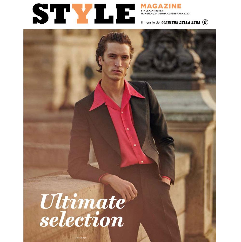Tripla cover dedicata alla moda