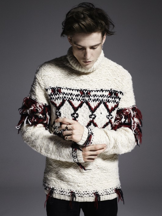 focus on�knitwear the men issue