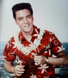 Elvis Presley nel film Blue Hawaii 1961