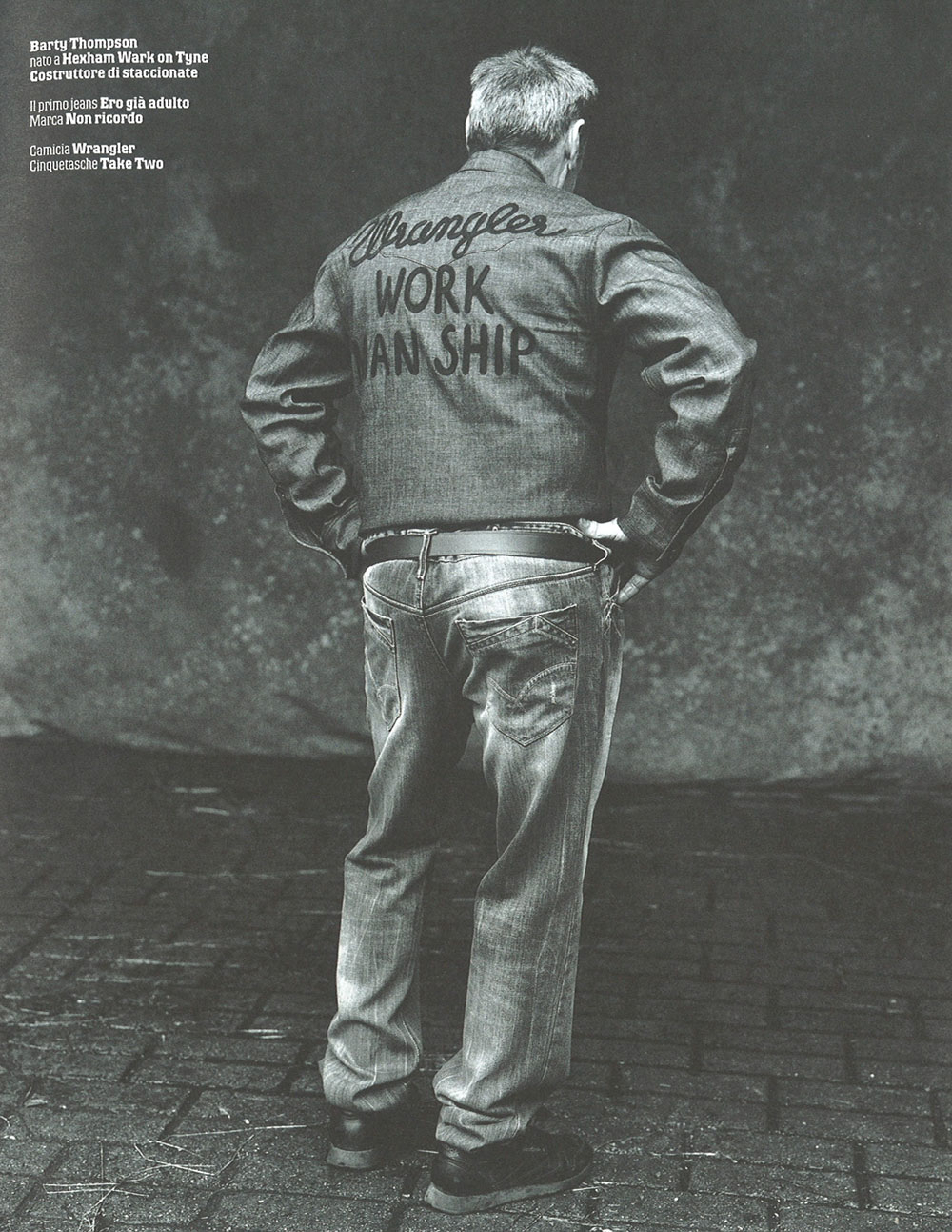 Max - Il libro del denim, 2008, Ph. Michael Woolley, Styling Filippo L.M. Biraghi