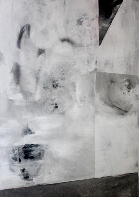Renato Calaj - Untitled - 2016, Mixed technique 70x100 cm