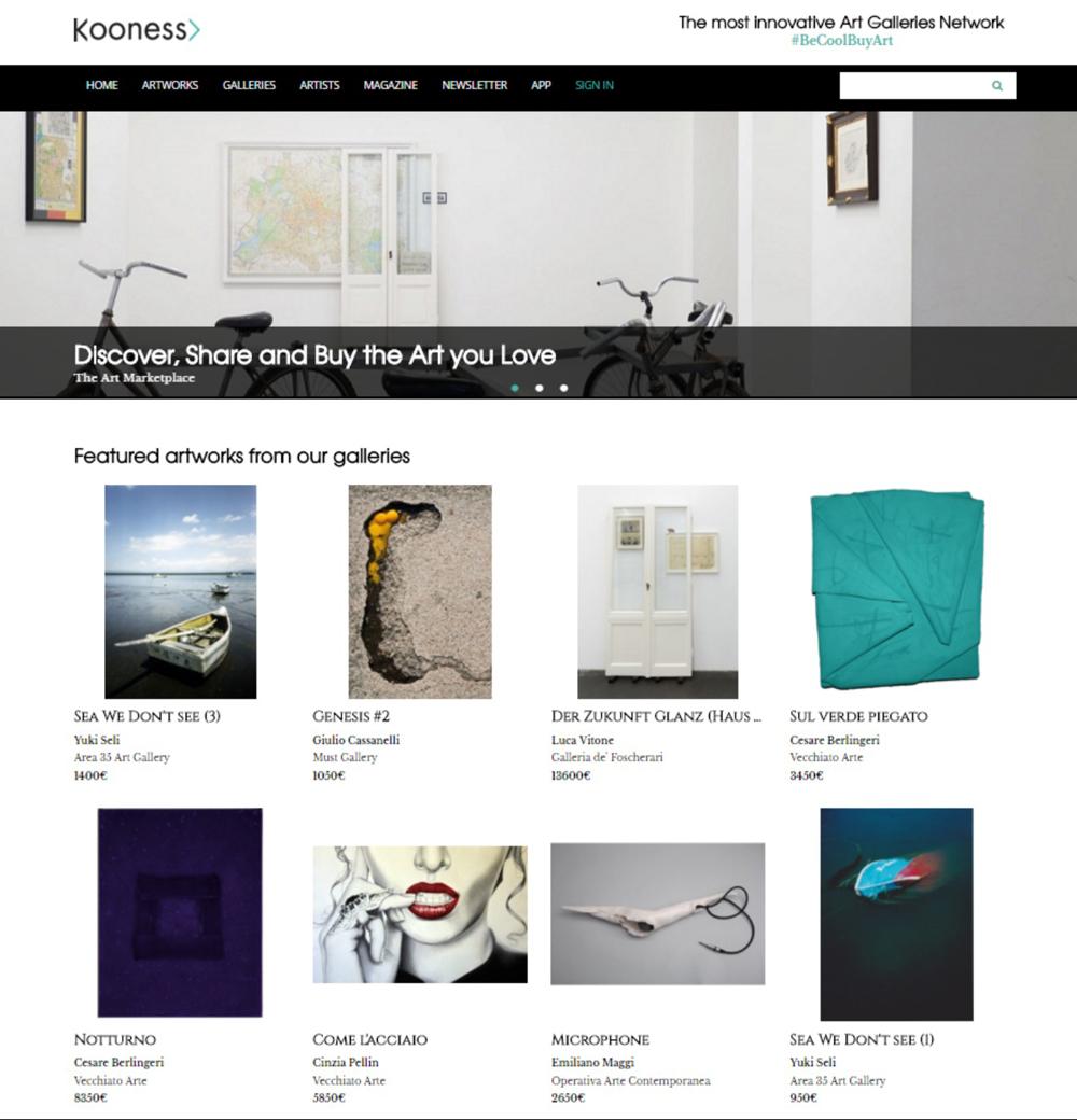Kooness.com - Homepage
