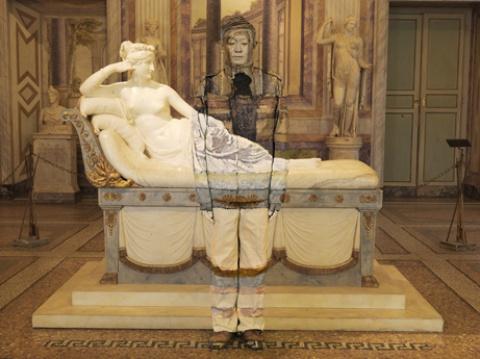 Paolina Bonaparte Borghese courtesy BoxArt Gallery