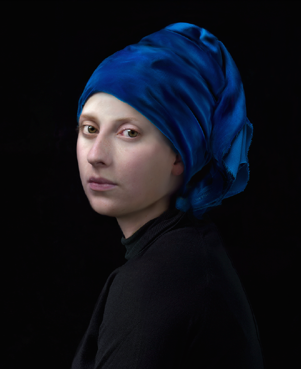 Hendrik Kerstens - Blue Turban - Flatland Gallery